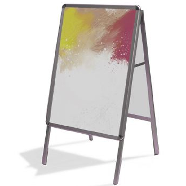 Aluminum A-Frame Poster Stand
